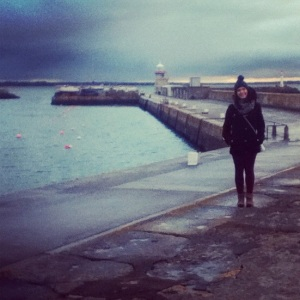 This is me in Howth.