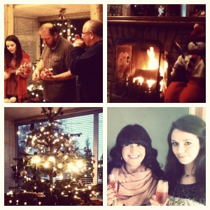 A lovely Irish Christmas with a wonderful family.