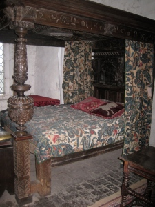 One of the room displays in Bunratty Castle