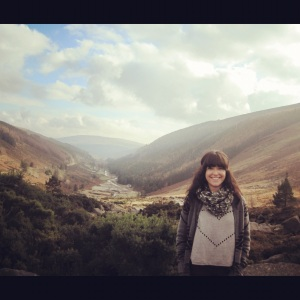 The amazing Wicklow Gap.