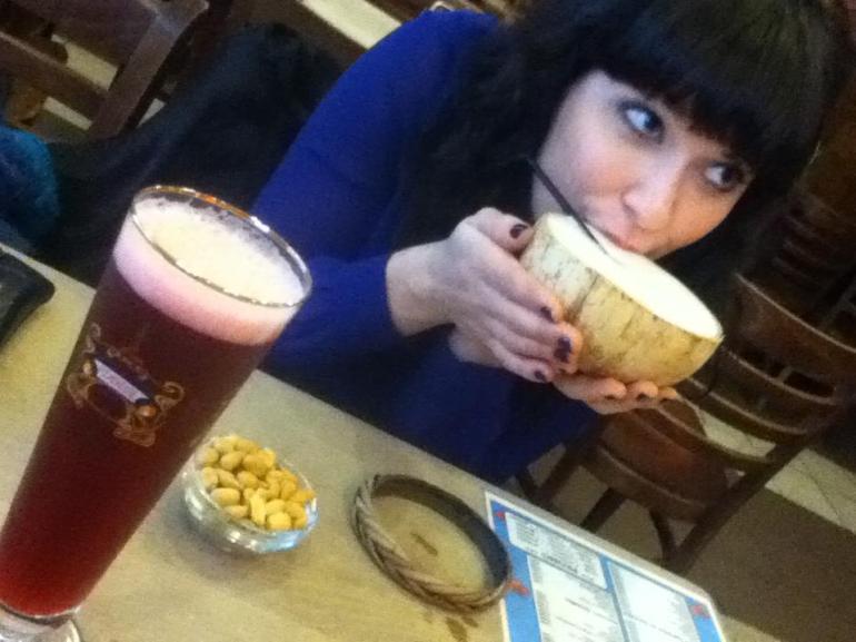 coconut beer
