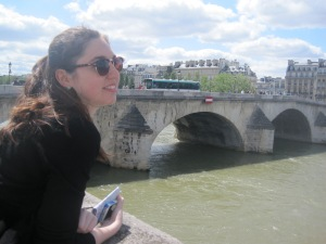 Wandering through Paris with a best friend from Canada