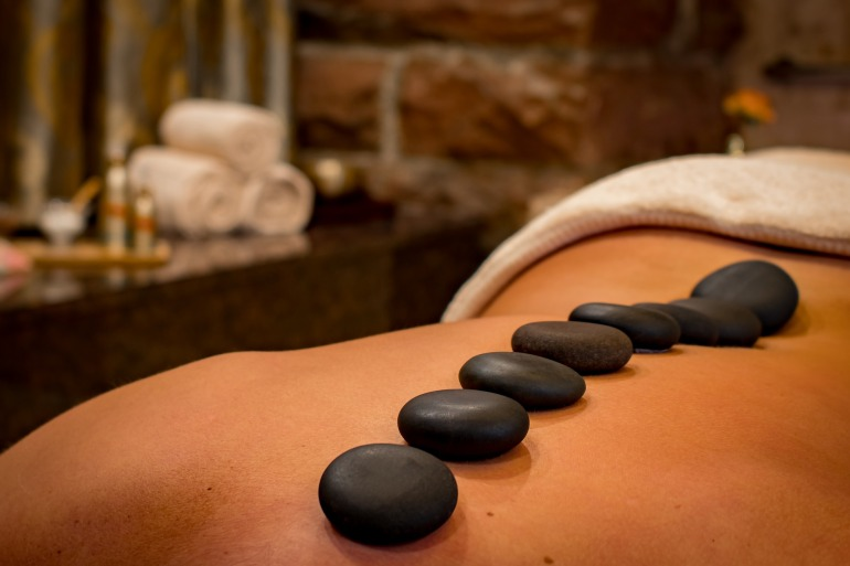 Our time in Slovakia - lava stone massage
